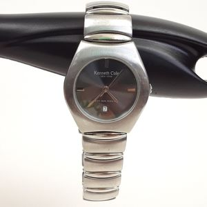 Kenneth Cole New York Silver Watch